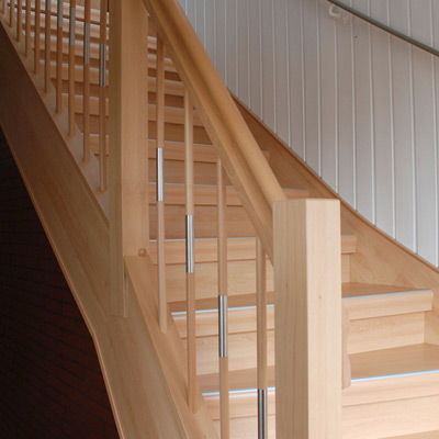 Treppenrenovierung Treppensanierung Alte Betontreppe nachher