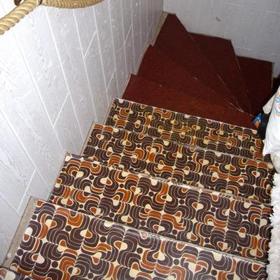 Treppenrenovierung Treppensanierung einer Kellertreppe vorher